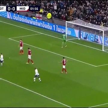 Tottenham 2-1 Middlesbrough