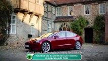 Vândalos são surpreendidos por sistema de segurança da Tesla