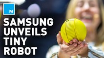 Samsung's mini robot is like your personal BB-8  — Strictly Robots