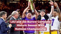 LSU Takes The National Championship Win