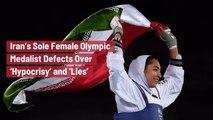 Kimia Alizadeh Leaves Iran Forever