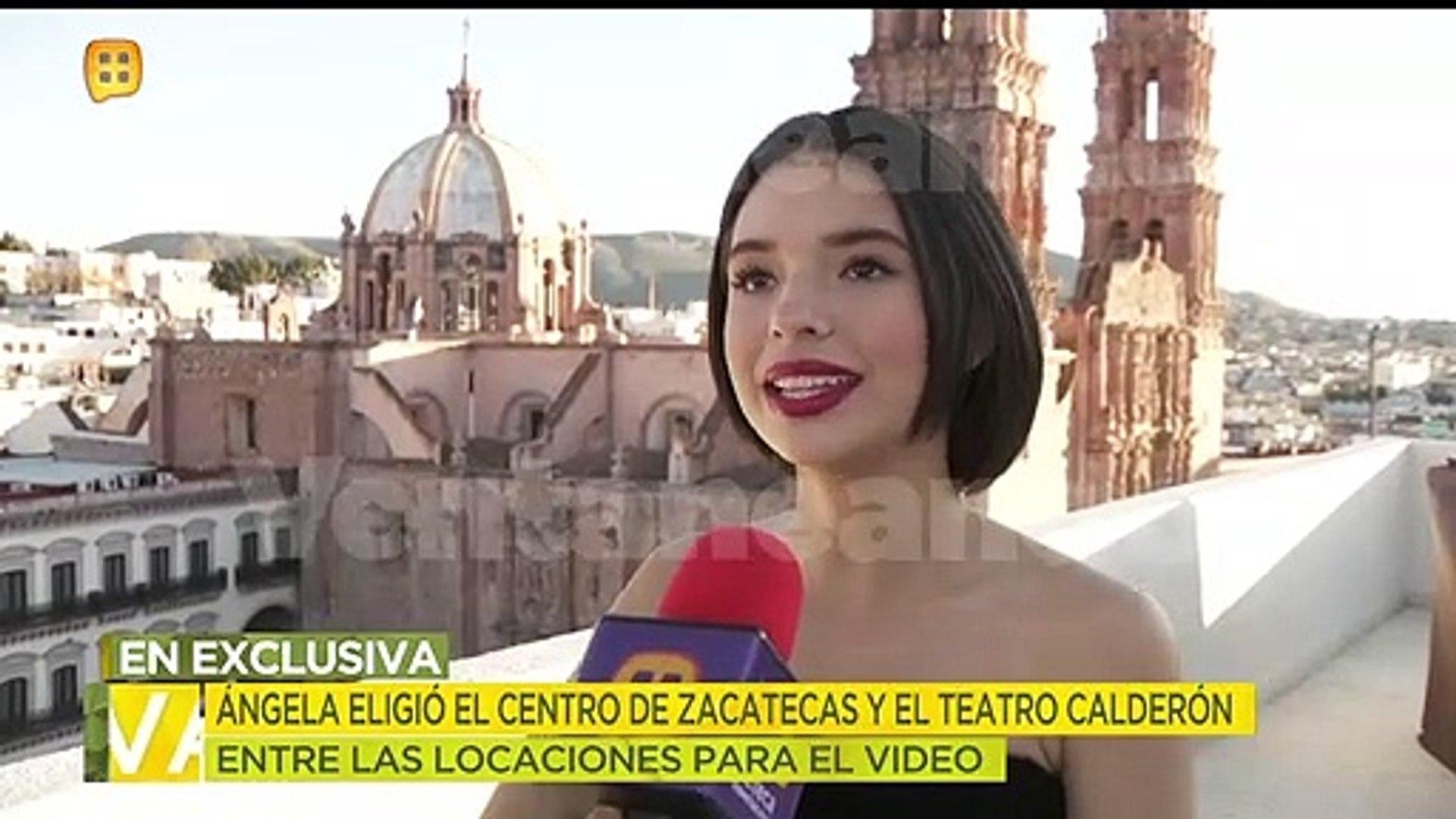 Ángela Aguilar inició el 2020 con mucho trabajo. Grabó el video de 'No me queda más'. | Ve