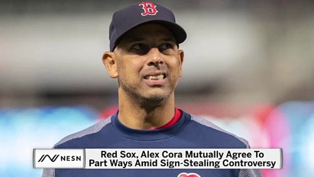 Alex Cora and Red Sox Part Ways