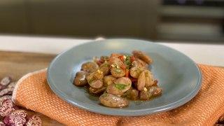 Frijoles a la vinagreta  -Recetas Veganas