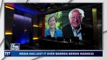 Cable News GIDDY Over Warren's Fight With Bernie Sanders