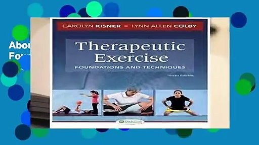About For Books  Therapeutic Exercise: Foundations and Techniques (Therapeudic Exercise: