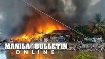 Fire engulfs dozens of houses along Davao River
