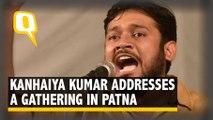 CAA Stir: Kanahiya Kumar Addresses a Rally in Patna's Sabzi Bagh