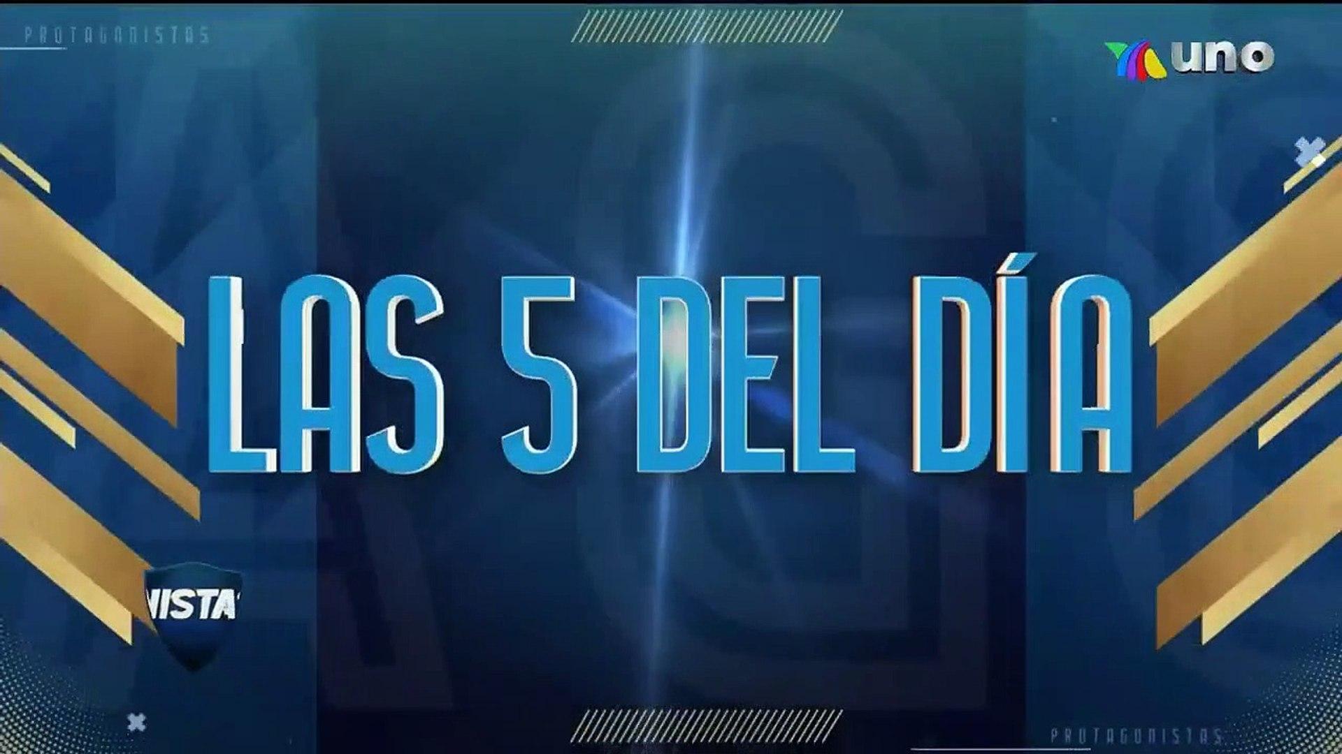 Las 5 del día | Azteca Deportes