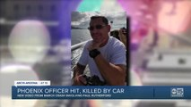 Phoenix officer hit and killed by car