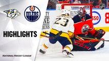NHL Highlights   Predators @ Oilers 01/14/20