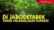 Setu-setu yang Hilang di Jabodetabek, Banjir Tak Terbendung