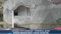 Keraton Agung Sejagat Dipasangi Garis Polisi