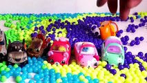Learn Colors Pj Masks Cups Balls Beads Orbeez   Pj Masks Wrong Heads Surprise Toys