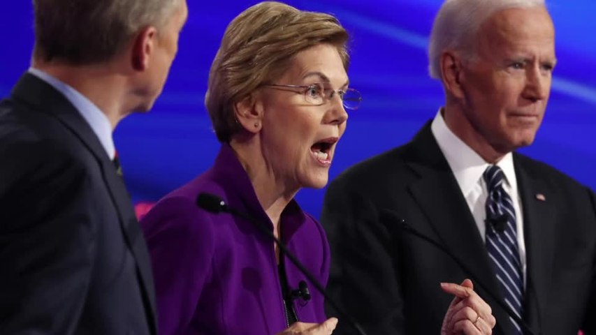 The Dems debate: War, trade and a woman in the White House