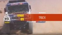 Dakar 2020 - Stage 9 (Wadi Al-Dawasir / Haradh) - Truck Summary