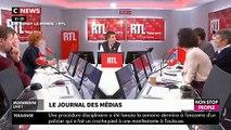 Enervé à cause de chiffre sur l'écologie, Nicolas Hulot menace de quitter en direct le studio de RTL - VIDEO
