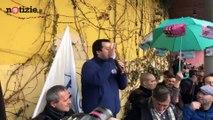 Salvini contro la Repubblica: contestato al comizio in Emilia Romagna | Notizie.it