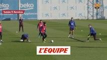 Griezmann régale à l'entraînement - Foot - Barça