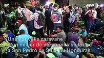 Honduras: formation d'une nouvelle caravane de migrants