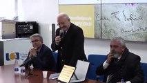 Napoli - De Luca incontra i ricercatori dell-istituto tumori Pascale (16 01 20)