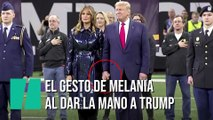 El gesto de Donald Trump con Melania que da la vuelta al mundo