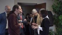 Pablo Iglesias y su equipo conocen su nuevo lugar de trabajo en el Ministerio de Sanidad