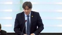 Puigdemont reivindica su inocencia contra las críticas del PP