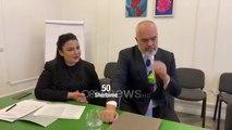 Ora News - Shërbimet online, Balluku ngatërrohet me llogarinë 96+90=162
