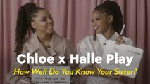 """Chloe x Halle Play """"How Well Do You Know Your Sister?"""""""