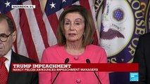 """Nancy Pelosi on impeachment trial: """"We should have witnesses and documentation"""""""
