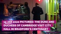 Le prince William et Kate Middleton, de sortie et souriants, ne laissent rien paraître après la réunion de crise d'Elizabeth II