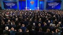 Rusya Devlet Başkanı Putin, Federasyon Konseyi'ne seslendi