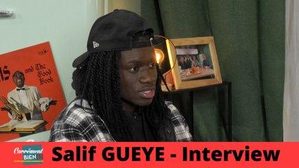 Interview exclusive de Salif Gueye sur le plateau de Carrément Bien[s]