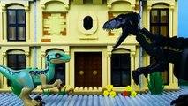 LEGO Jurassic World STOP MOTION LEGO Jurassic World: Indoraptor Attack - LEGO - By Billy Bricks