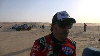 Comentarios de Fernando Alonso tras la Etapa 10 del Dakar
