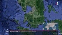 Philippines : un paysage recouvert de cendres