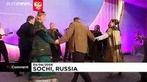 Quand Vladimir Poutine dansait avec George Bush