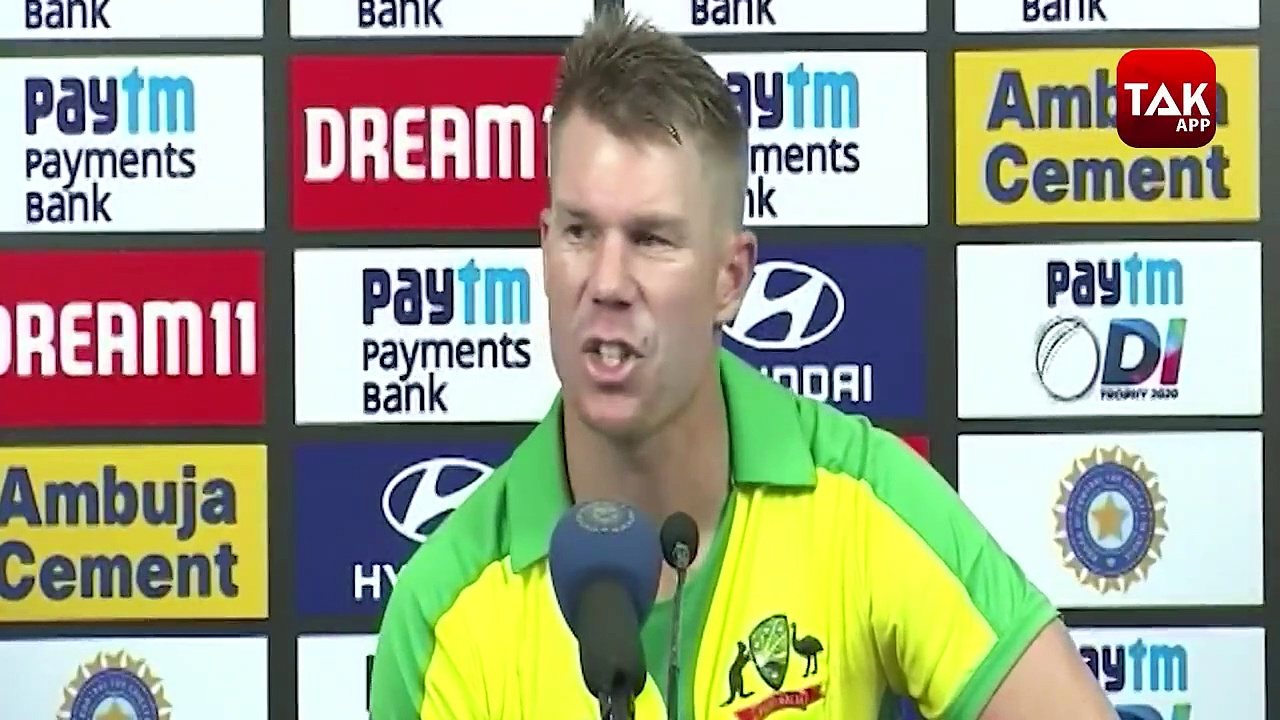 David Warner Tells Mistake  Done By India In 1st ODI Match Against Australia.