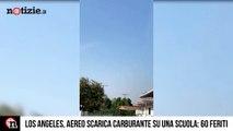 Aereo scarica il carburante sulla scuola: oltre 60 feriti | Notizie.it