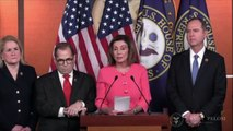 'Con Job': Trump Reacts To Pelosi Naming Impeachment Managers