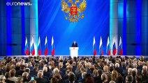 """Putin zur Lage der Nation: """"Wir müssen beim Wettrüsten niemand einholen."""""""