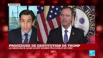 Procédure de destitution de Donald TRUMP : Adam Schiff nommé procureur en chef