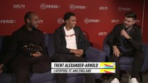 FIFA eWorld Cup Champion Mohammed MoAuba Harkous and Trent Alexander-Arnold play FIFA 20