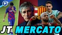 Journal du Mercato : Quique Setién amorce sa révolution au Barça