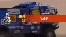 Dakar 2020 - Étape 10 (Haradh / Shubaytah) - Résumé Camion