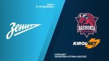 Zenit St Petersburg - KIROLBET Baskonia Vitoria-Gasteiz Highlights   EuroLeague, RS Round 19