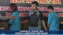 Couple Arrested for Fraud