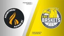 Promitheas Patras - EWE Baskets Oldenburg  Highlights | 7DAYS EuroCup, T16 Round 2