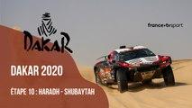 DAKAR 2020 : Etape 10 - HARADH - SHUBAYTAH